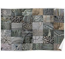 Stone Patchwork 6x6 Poster