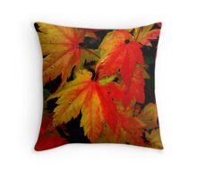 Leafs Of Joy ~ Vine Maple ~ Throw Pillow