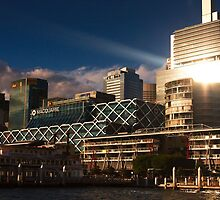 King St Wharf, Sydney, Australia by Roger Barnes