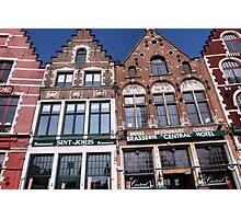 Belgian Architecture Photographic Print