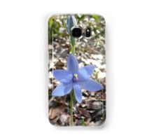 Blue Lady Orchid Samsung Galaxy Case/Skin