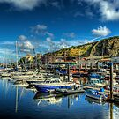 The Marina in Douglas, Isle of Man by NeilAlderney