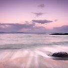 Pink Sunset, Roches Beach, S.E Tasmania by James Nielsen