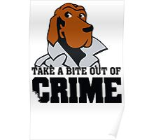 McGruff the Crime Dog Vintage 80's T-shirt Funny TV Poster