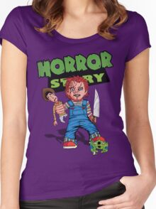 Horror Story Women's Fitted Scoop T-Shirt