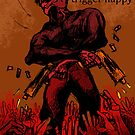 Triggerhappy zombie shootout or something by PieterDC