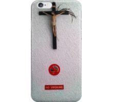No Smoking Jesus iPhone Case/Skin