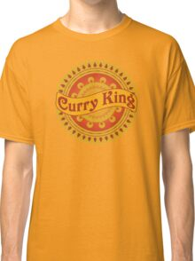 Curry King Indian Chef Eastern Asian Cuisine Lover Classic T-Shirt