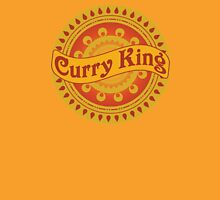 Curry King Indian Chef Eastern Asian Cuisine Restaurant Lover Unisex T-Shirt