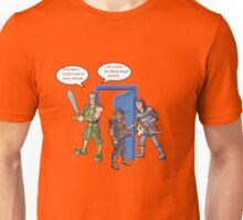 Vork's Commentary on Parties Unisex T-Shirt