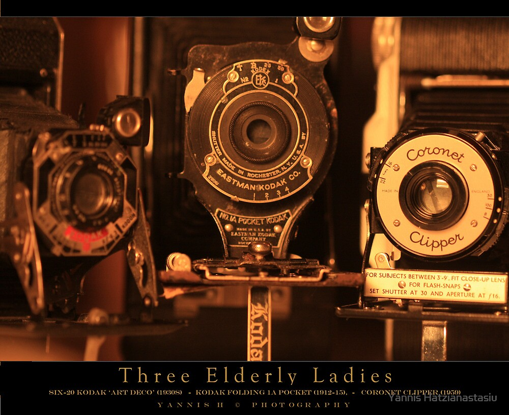 Three Elderly Ladies by Yannis Hatzianastasiu
