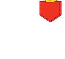 Pikachu in the pocket ~ by wjjdo