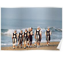 Amish Girls in Cape May Poster