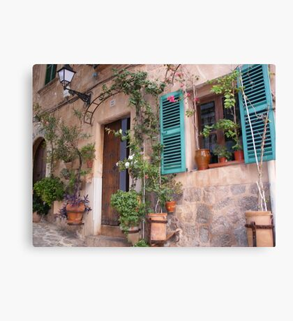 Beauty In The Majorcan Mountains Canvas Print