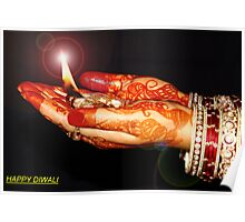 """Diwali greeting card"" Poster"
