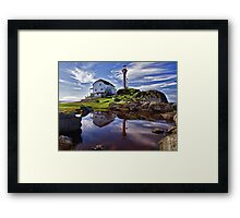 Cape Forchu Lightstation Framed Print