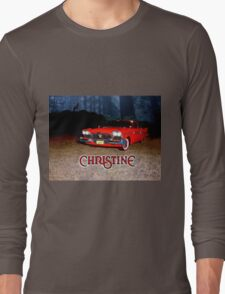 Christine - from the mind of horror writer stephen King Long Sleeve T-Shirt