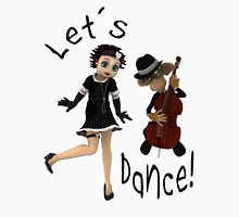 Let's Dance! Womens Fitted T-Shirt