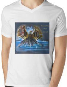 Memories Never Die Tribute 9/11 Mens V-Neck T-Shirt
