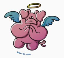 Pig Angel Praying One Piece - Long Sleeve
