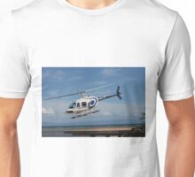 VH-HZO b206 gbr Helicopters Unisex T-Shirt