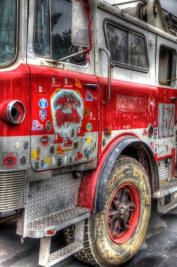 Ladder Truck 152 - Remembering 9/11 by Eddie Yerkish
