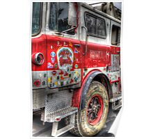 Ladder Truck 152 - Remembering 9/11 Poster