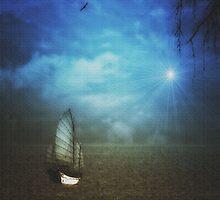 SHANGHAI SUNSET by TOM YORK