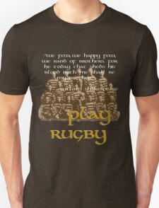 Play Rugby 2 Unisex T-Shirt