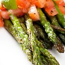 Asparagus Side Dish by Charlotte Lake