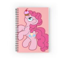 Pinkie Pie with a cupcake Spiral Notebook