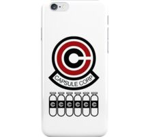 Capsule Corp v8 iPhone Case/Skin