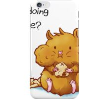 What Am I Doing With My Life iPhone Case/Skin