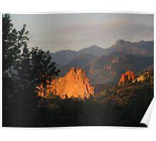 Colorado Mornin' - Garden of the Gods Poster