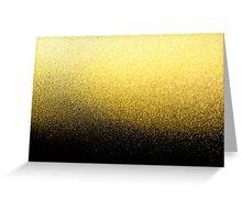 Black & Gold Greeting Card