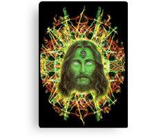 Psychedelic Jesus Canvas Print