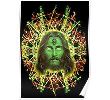 Psychedelic Jesus Poster