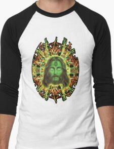 Psychedelic Jesus Men's Baseball ¾ T-Shirt