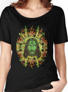 Psychedelic Jesus Women's Relaxed Fit T-Shirt