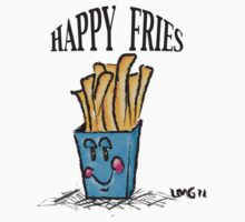 Happy Fries~(C) 2011 One Piece - Long Sleeve