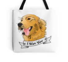 I WUV YOU Tote Bag