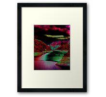 Martian Mead Framed Print
