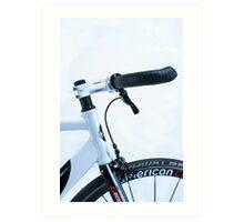 Omnium track bike in fixie street mode Art Print