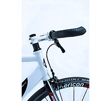 Omnium track bike in fixie street mode Photographic Print