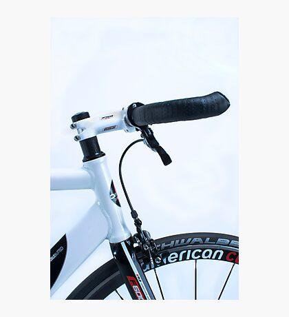 Omnium track bike in fixie street mode Photographic Print
