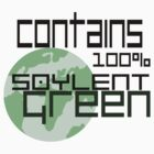 100% Soylent Green  by Joelism