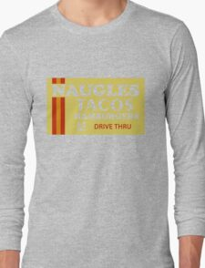 Naugles Tacos Retro T-Shirt Long Sleeve T-Shirt