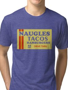 Naugles Tacos Retro T-Shirt Tri-blend T-Shirt
