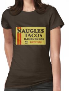 Naugles Tacos Retro T-Shirt Womens Fitted T-Shirt