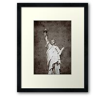 Liberty...Freedom © Framed Print